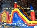 Trampolins infláveis escorregas para crianças parque de diversões equipamentos de playground indoor