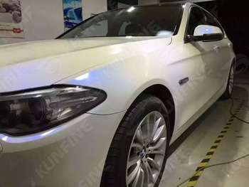 Car Styling Wrap white blue Chameleon Car Vinyl film Body Sticker Car Wrap With Air Free Bubble For Vehiche 1.52*20M /Roll