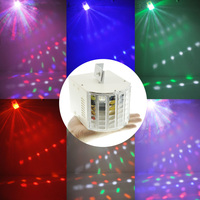 18W Auto Sound Control LED RGBW DMX Ambient Lights Bar DJ Christmas Party Stage Lighting Dance