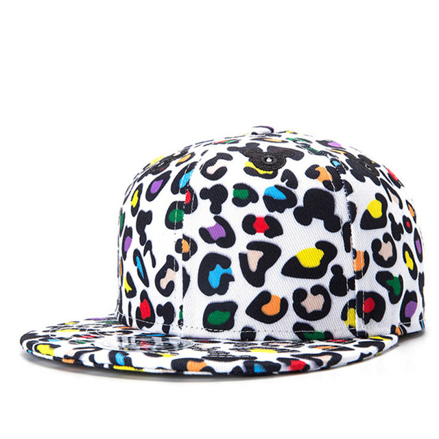 Summer Style Snapback Gorras Hat Bon Flat Brimmed Baseball Cap 3D Print Cute Mickey Adjustable Hip hop Trucker Bone Caps