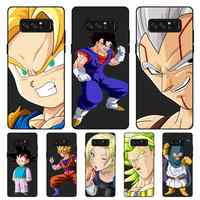 P059 Dragon Ball Fashionable Black Silicone Case Cover For Samsung Galaxy Note 3 4 5 8 9 10 Plus M10 M20