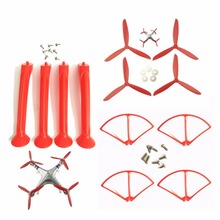 RC replacement accessories set for SYMA X8 X8C X8G X8W X8HC X8HW remote control Airplane spare parts Red/Blue