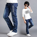 Big Boys Pants Jeans 2016 Fashion Boys Jeans for Spring Fall Children's Denim Trousers Kids Ripped Jeans Boys Jeans