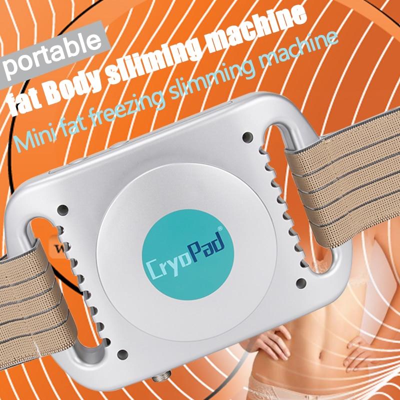 New Generation!! !CryoPad Mini Antifreeze Cryopad Home Slimming Machine Fat Freezing Machine Body Shaper Slimming Machine DHL