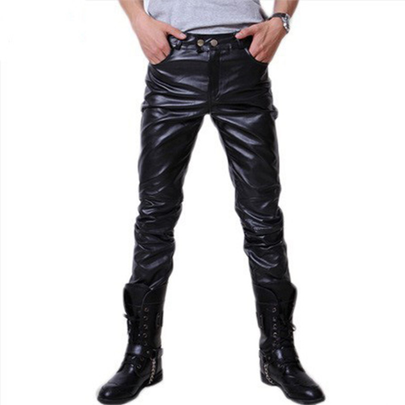 Popular Mens Black Leather Pants-Buy Cheap Mens Black Leather ...
