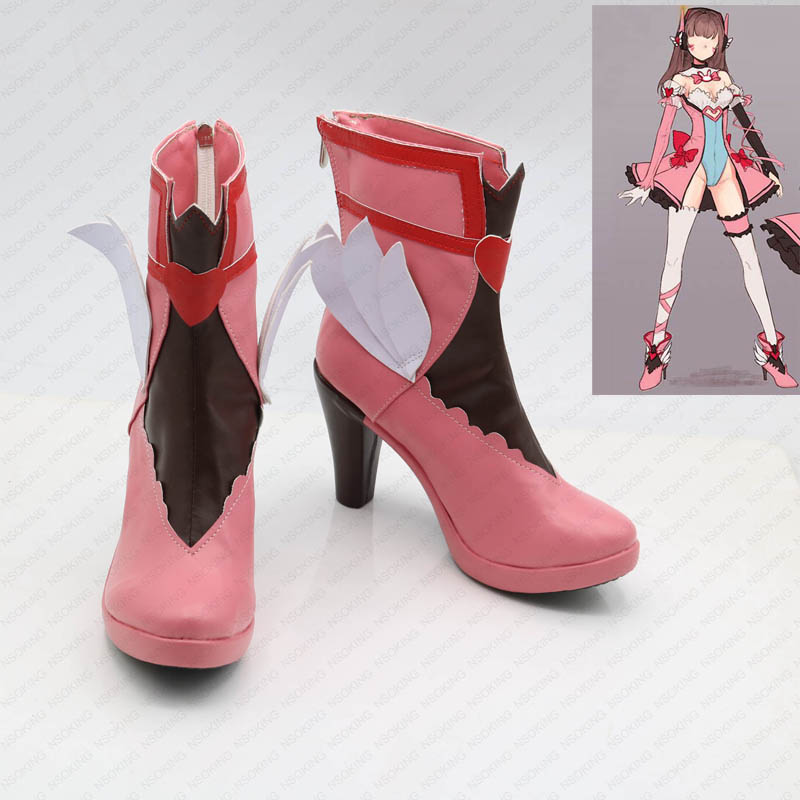 Magical Girl  Cosplay shoes DVA Anime boots Custom-made