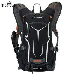 Сверхлегкая сумка для горного велосипеда гидратации пакет воды рюкзак Велоспорт велосипед/Туризм сумка для скалолазания + дождевик набор