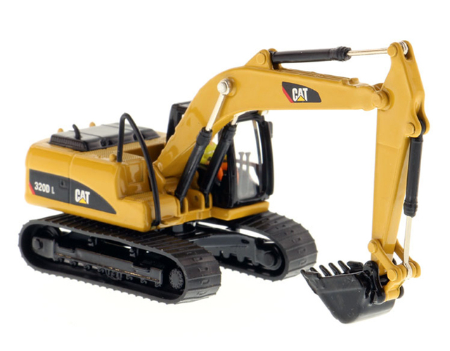 DM 1: 87 CAT Caterpillar 320D L Hydraulic excavator model 85262 Collection model Tin packaging