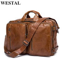 Real Genuine Leather Men Messenger Bags Business Bag Laptop Men Bags Men S Briefcase Tote Shoulder