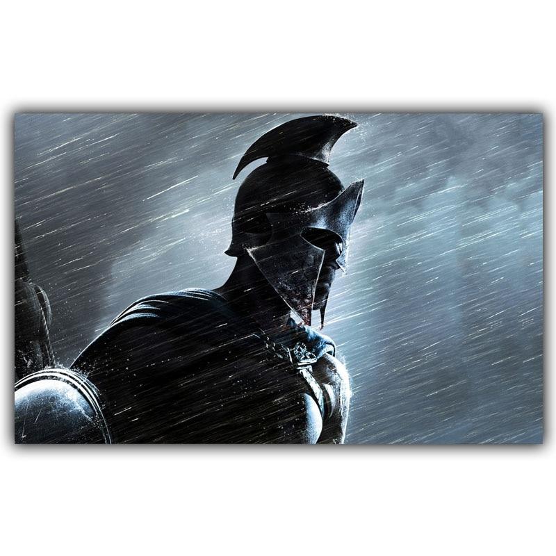 300 Spartan Warriors Art Silk Poster Print 30x48cm 50x80cm