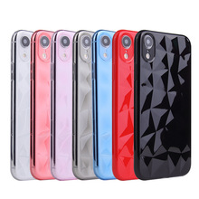 XINDIMAN Phone case for iphone7 7plus matte plain silicone soft TPU phone back cover iphoneX XS XSMAX XR 6S 6plus 8 8plus