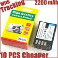 2200 mAh DMW-BLF19 DMW BLF19PP BLF19 BLF19E bateria para Panasonic Lumix DMC-GH3 DMC GH4 GH3 DMC-GH4 baterias bateria celular