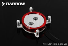 Barrow LTFHBX-04N-V2, For Intel 2011 / X99 / X299 CPU Water Blocks Mirror Extreme, LRC RGB v2 Acrylic Micro water cooling