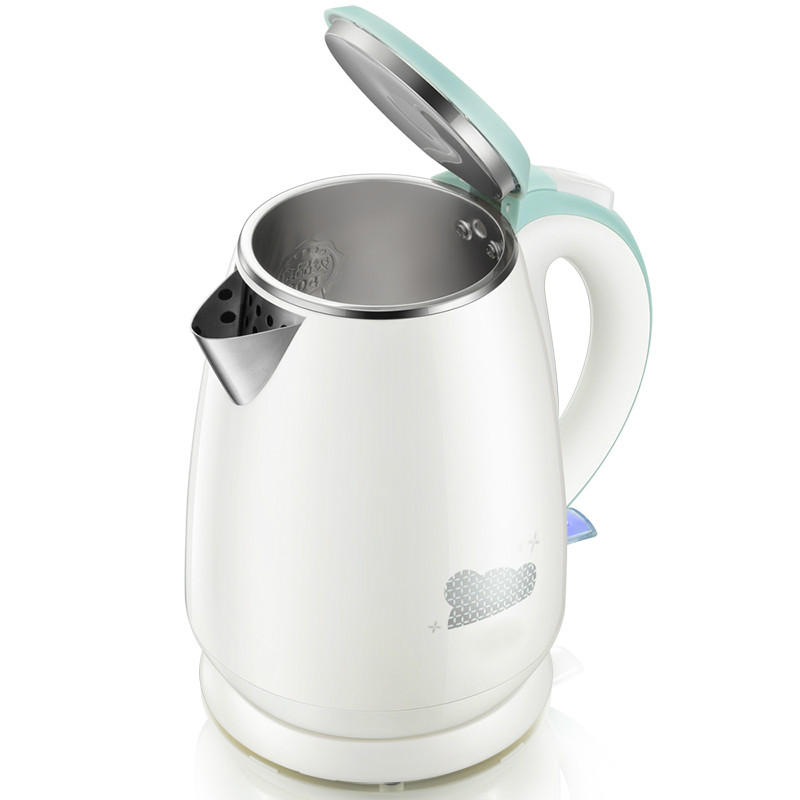 Heating  304 stainless steel electric kettles Safety Auto-Off Function cukyi electric kettles household tea pot set 1 0l capacity stainless steel safety auto off function black