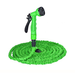 Heißer Verkauf 25FT-100FT Gartenschlauch Erweiterbar Magie Flexible Wasserschlauch EU Schlauch Plastikschläuche Rohr Mit Spritzpistole Zu Bewässerung