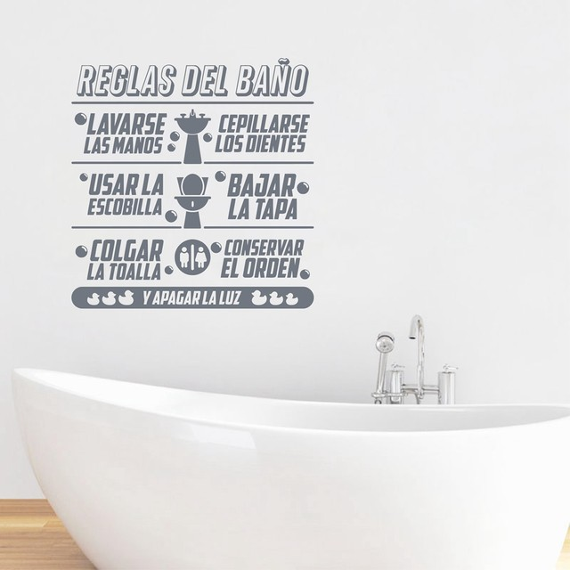 Stunning Badkamer Stickers Tekst Photos - New Home Design 2018 ...