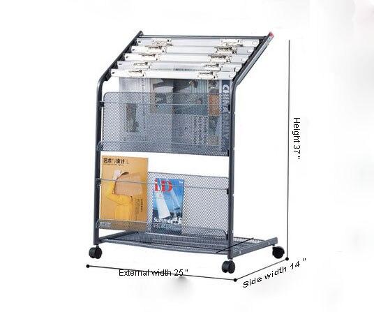 Металлический стеллаж для журналов, стойка для газет, держатель для рукоделия, уникальные стеллажи, полка, держатель для файлов, органайзер, система подачи документов