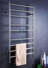 Bathroom accessory ladder wall mounted heated towel rail towel warmer towel rack towel dryer with  round bar HZ-928A