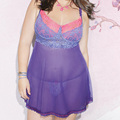 RA80297 Top Selling Ladies Lingerie Sexy Hot Erotic Good Quality Plus Size Lingerie Purple And Pink Lace Sexy Underwear