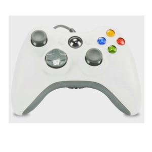 Image 2 - 新しい USB 有線ゲームパッド xbox 360 ゲームダブル振動ジョイスティック Pc のコンピュータコントローラ Windows 7 8 10