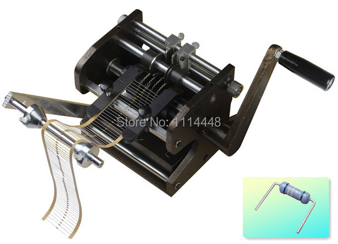 Manual U type Resistor Axial Lead Bend Cut Form Making Machine
