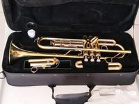 Brand Professional Bb Trumpet JINYIN JYTR M350 High Quality Yellow Brass Body Gold Lacquer With Case