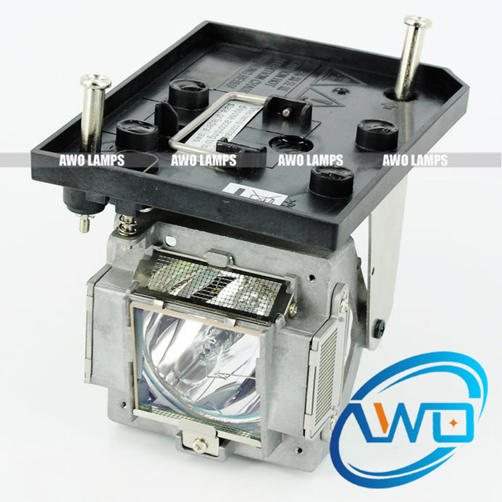 ФОТО AWO High Quality Replacement Projector Lamp 5J.JAM05.001 with Housing for BENQ PW9500/PX9600
