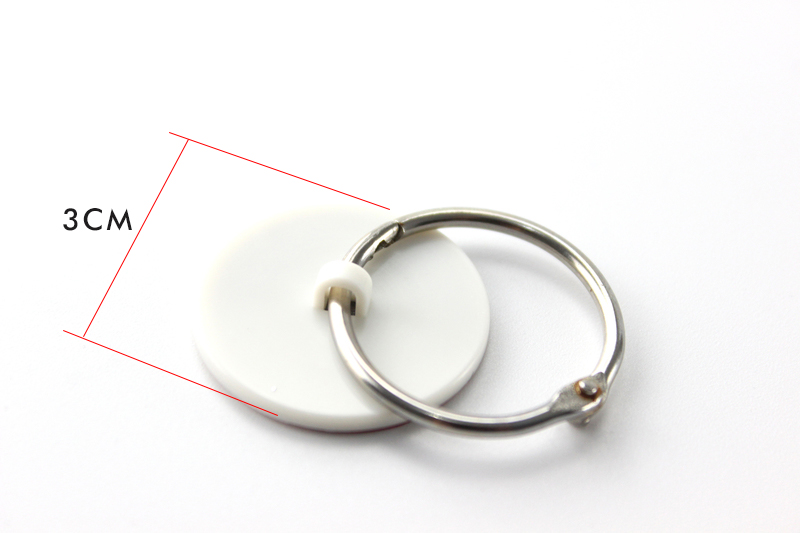 Metal Display Snap Rings Poster Hangers Steel Clasp Rings Ceiling Hanging Banner Signage Split Open Snap Ring With Sticky Dish