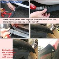 2018 New Car styling Car Front Bumper Lip Sticker Protector for mini cooper r56 bmw f10 mazda 3 vw polo jetta mk6 Accessories