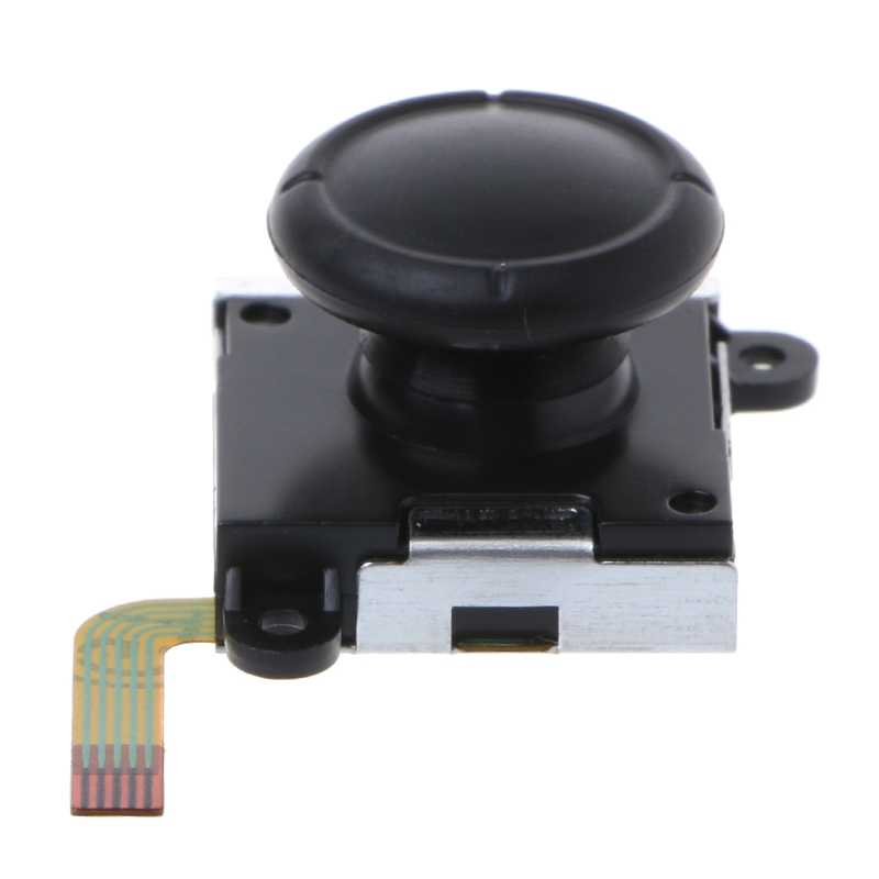 1pcs New Black 3D Analog Sensor Thumbstick Joystick For Nintendo Switch NS Joy-Con Controller Plastic+Metal dropshipping