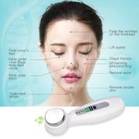 Hot Ultrasonic Vibration Beauty Instrument Face Lift Skin Tightening Facial Skin Care Beauty Massager Magic Cosmetic