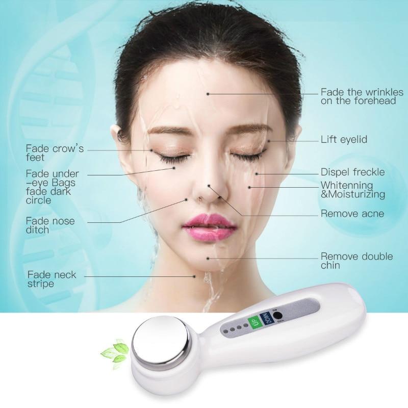 Vibración ultrasónica Facial Limpieza profunda Instrumento de - Herramienta de cuidado de la piel