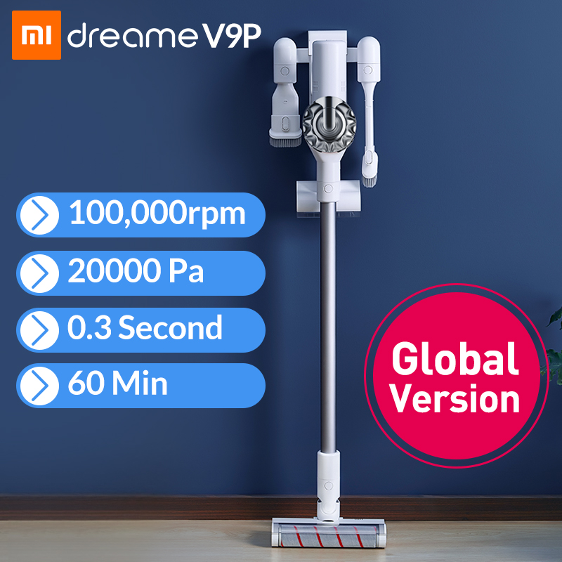 Xiaomi Dreame V9 Handheld Cordless Vacuum Cleaner Portable Wireless Cyclone Filter Carpet Dust Collector Carpet Sweep Home(China)