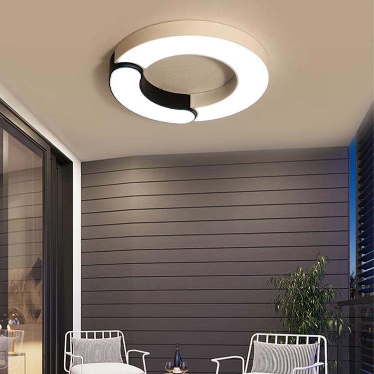 цены на Modern LED Flush Mount Ceiling Light new ultra thin acrylic led ceiling lamp modern simple round creative fashion ceiling lights