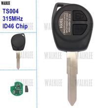 WALKLEE Remoto Chave Fit para SUZUKI SWIFT SX4 JIMNY VITARA IGNIS ALTO Respingo 315 MHz Modelo No. TS004