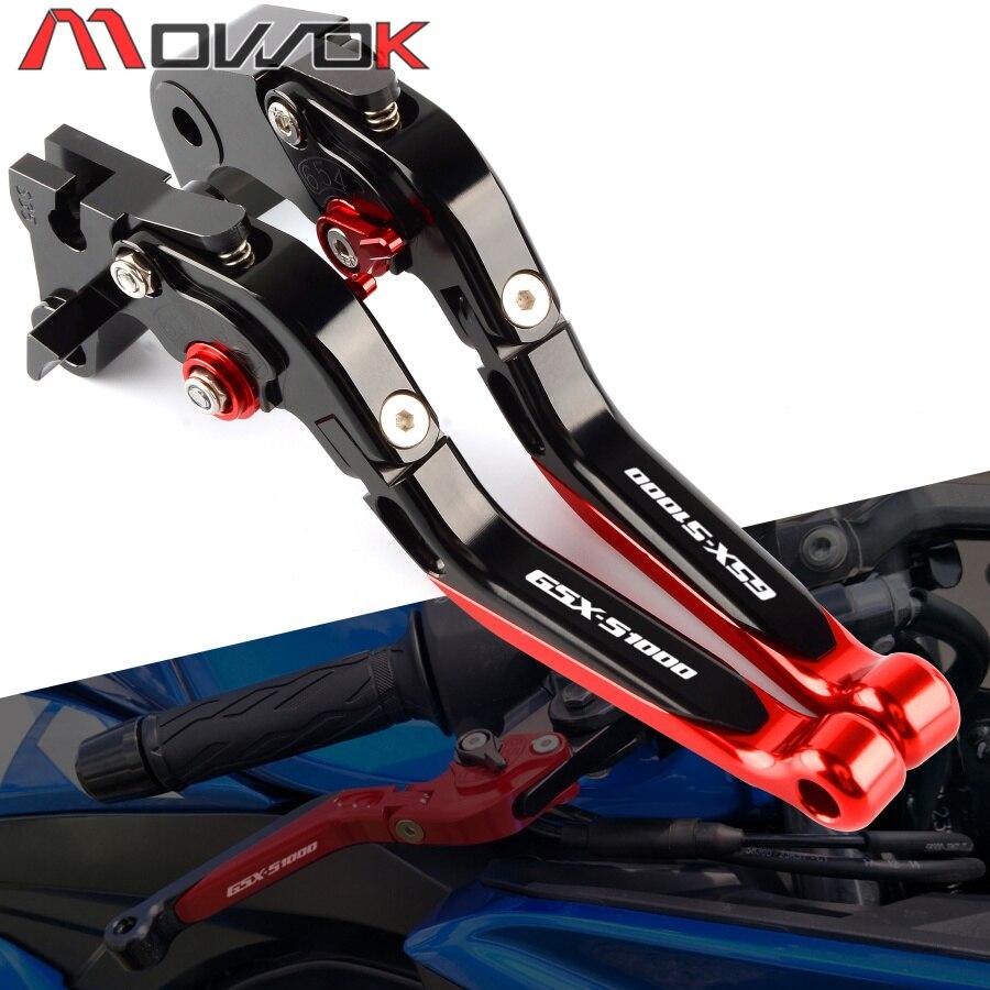 Flash Deals CNC Motorcycle For SUZUKI GSX-S1000 gsxs1000 2015-2018 Folding Extendable Brake Clutch Levers