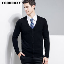 COODRONY Merino Wool Sweater Men Classic Casual V Neck Cardigan Men Clothes 2018 Autumn Winter Cashmere Mens Sweaters Coats 8331