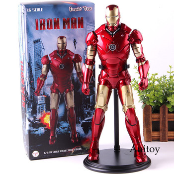 Iron Man Marvel Figure Action Toys PVC Collection Model Toy Avengers Infinity War 1/6 Scale Ironman Figures