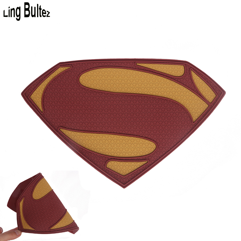 Ling Bultez High Quality 3D Superman Logo Unbreakable Superman Chest Badge