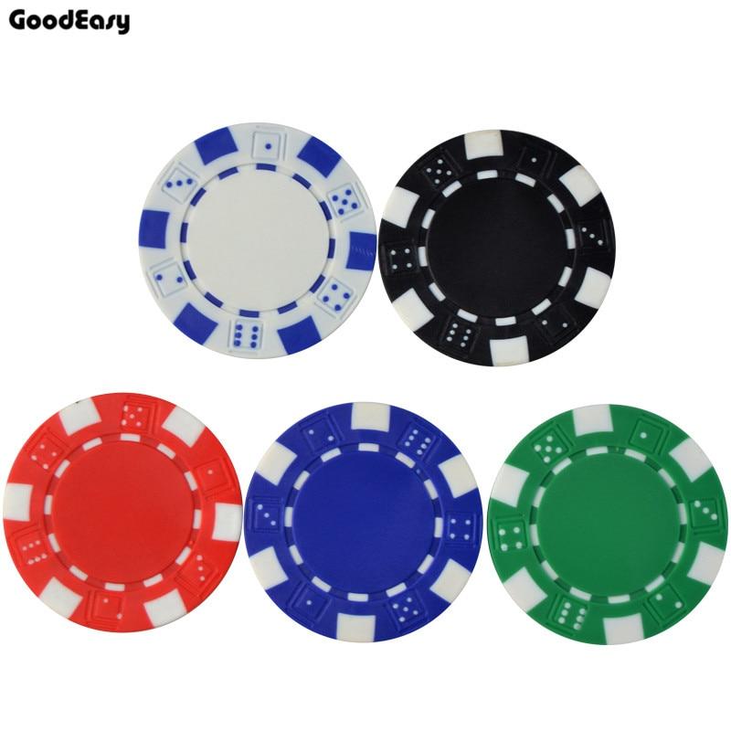 25 PCS / LOT Fichas de póker 11.5g Iron / ABS Classic Casino Chips 5 - Entretenimiento - foto 4