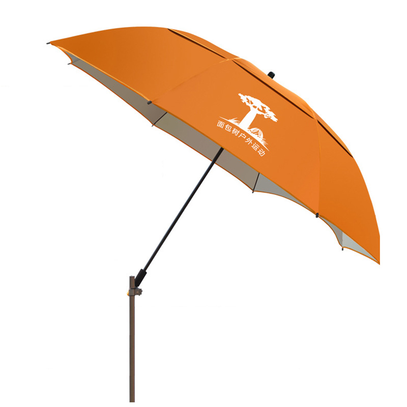 Beach Patio Umbrella Rain Gear 360 Degree Rotating Fishing Umbrella Windproof Sun Shade Cafe Garden Furniture Parasol new panda windproof anti uv sun rain flower princess parasol folding umbrella bumbershoot