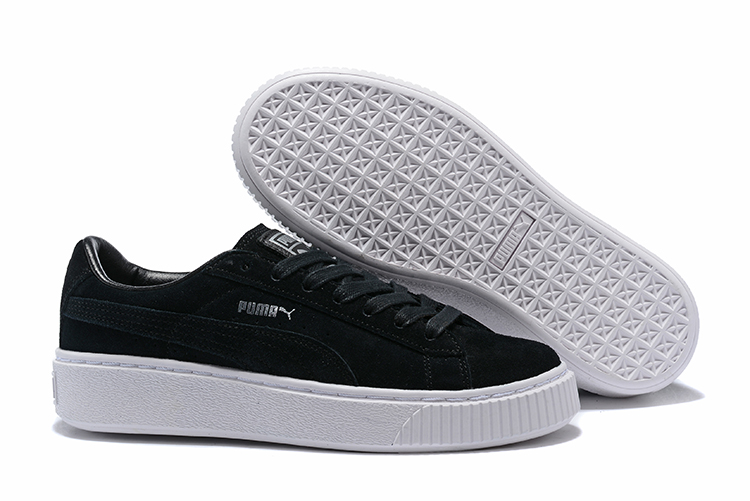 2018 Original PUMA Suede Classic Women's Sneakers Shoes Badminton Shoes Unisex Men's Sneakers size36-44 the new puma womens shoes classic high classic star high tongue series white leather laser badminton shoes
