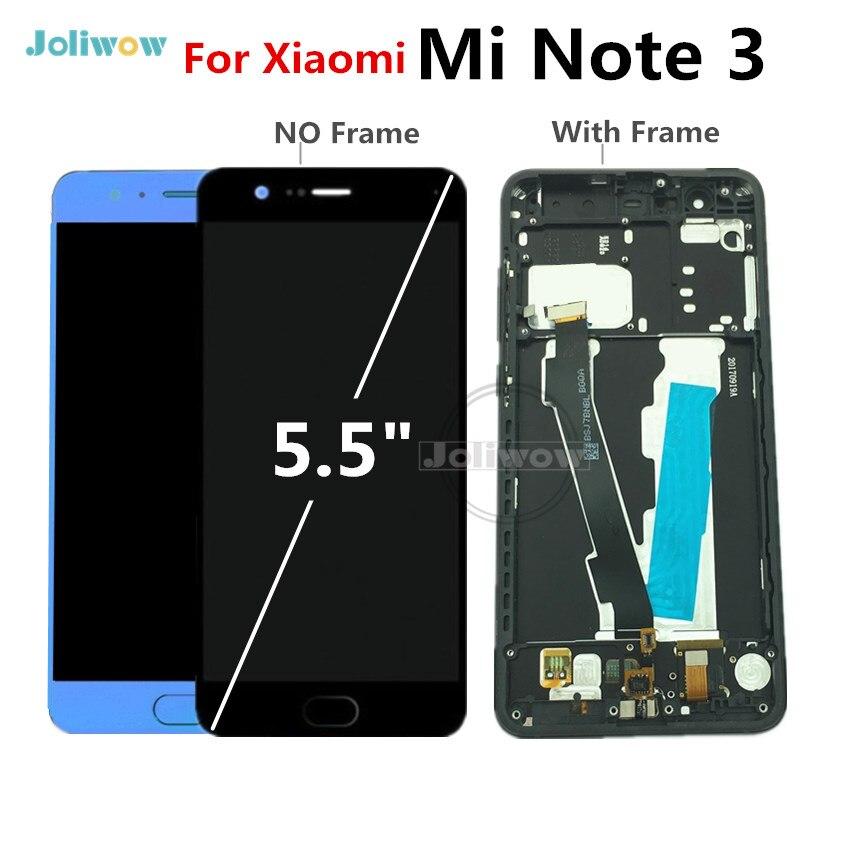 Pour Xiao mi Note 3 LCD affichage numériseur écran tactile panneau assemblage remplacement pour Xiao mi Note3 LCD 1920x1080
