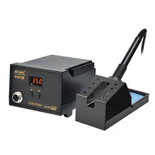 90W 220V Digital Soldering Station Soldering Tool Rework Stations digitaal soldeerstation hot air soldering station Best Price(China)