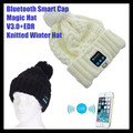 Wireless Bluetooth V3.0 Smart Woolen Knit Beanie Winter Sport Hat Headphone Headset Hands-free Music Magic Cap,Mp3 Speaker Mic