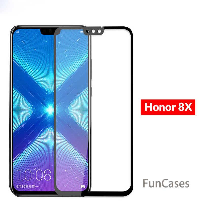 زجاج ممتاز ل الشرف 8X حالة الزجاج المقسى لهواوي الشرف 8X 7X Honor8X Honor7X X8 X7 8X7 X يغطي للصدمات حماية