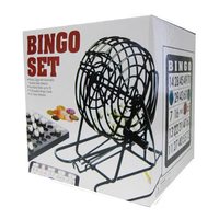 Bingo Game Set Lottery Numbers Picking Lucky Machine Fun Family Party New Deluxe 2019