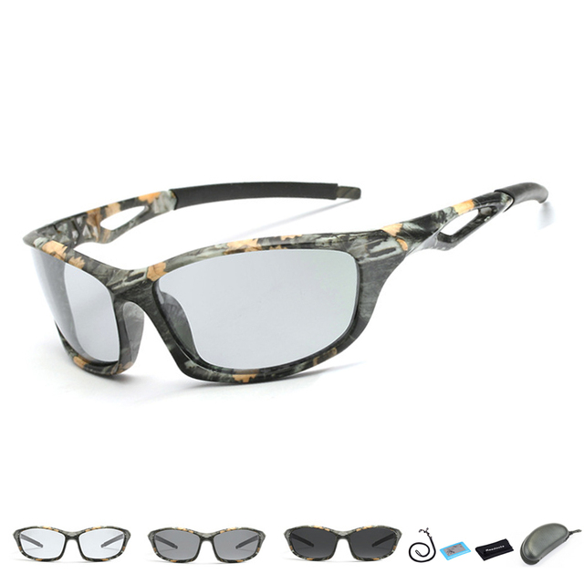 72f0277959a US $8.28 30% OFF|2019 New Polarized Photochromic Fishing Glasses Outdoor  Sports Sunglasses Men Wome Cycling Driving Fishing Eyewear with Rope-in ...