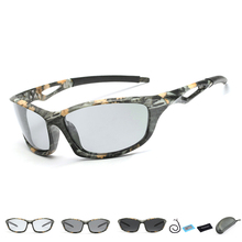 2019 New Polarized Photochromic Fishing Glasses Outdoor Sports Sunglass