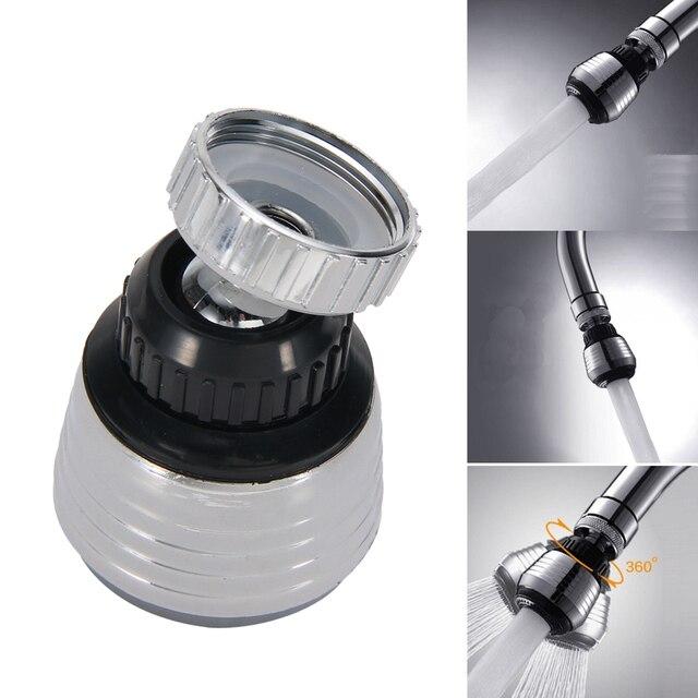 360 度回転節水タップバブラーディフューザー台所の蛇口ノズルフィルターアダプタ給水栓浴室付属品セット